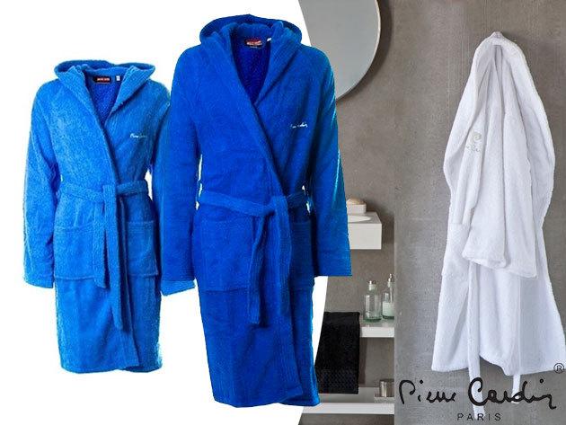 Pierre Cardin unisex fürdőköntösök 100% pamut frottír anyagból 3 színben (M-XXXL)
