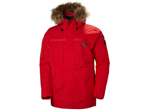 Helly Hansen COASTAL 2 PARKA FLAG RED XL (54408_110-XL)