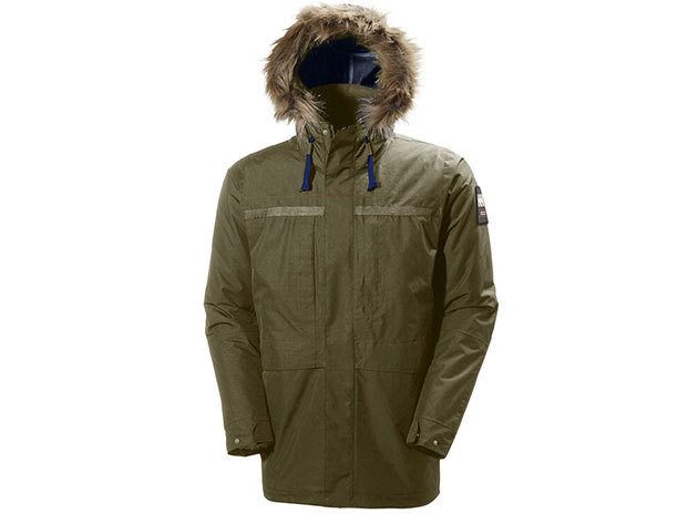Helly Hansen COASTAL 2 PARKA OLIVE NIGHT XXL (54408_468-2XL)