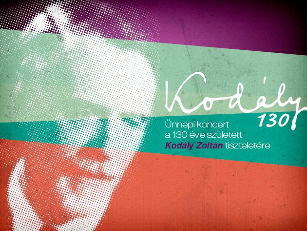 Kodály Zoltán 130. születésnapja alkalmából ünnepi hangverseny a Nemzeti Színházban