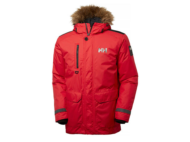 Helly Hansen SVALBARD PARKA FLAG RED S (53150_110-S)