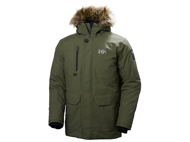 Helly Hansen SVALBARD PARKA IVY GREEN XL (53150_491-XL)