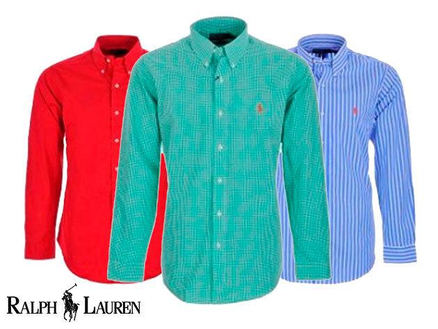 c938aef11c Ralph Lauren férfi Oxford ingek és pulóverek 100% pamutból (S-XL)