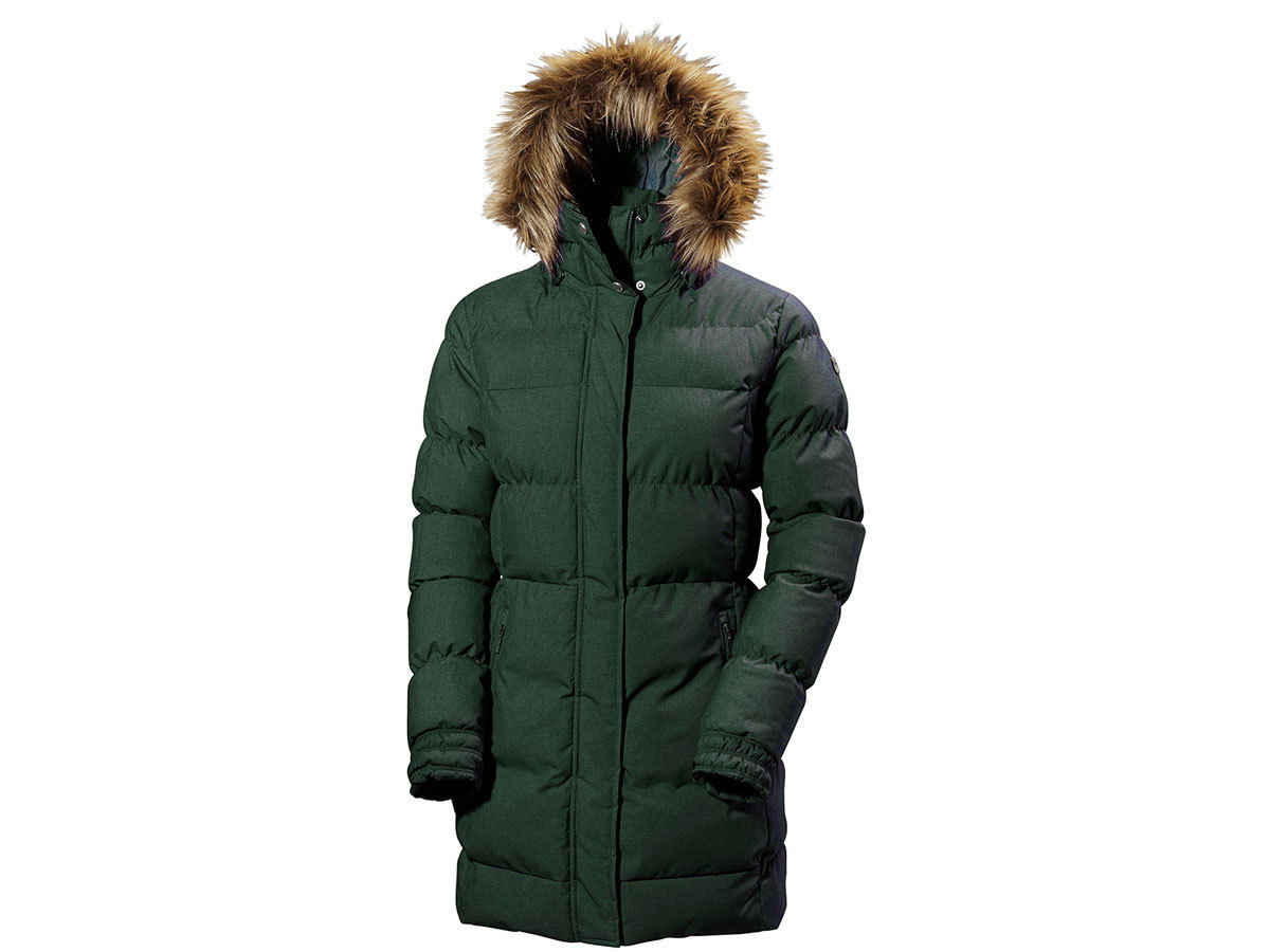 Helly Hansen W BLUME PUFFY PARKA DARKEST SPRUCE XXXXXL (54430_495-5XL)