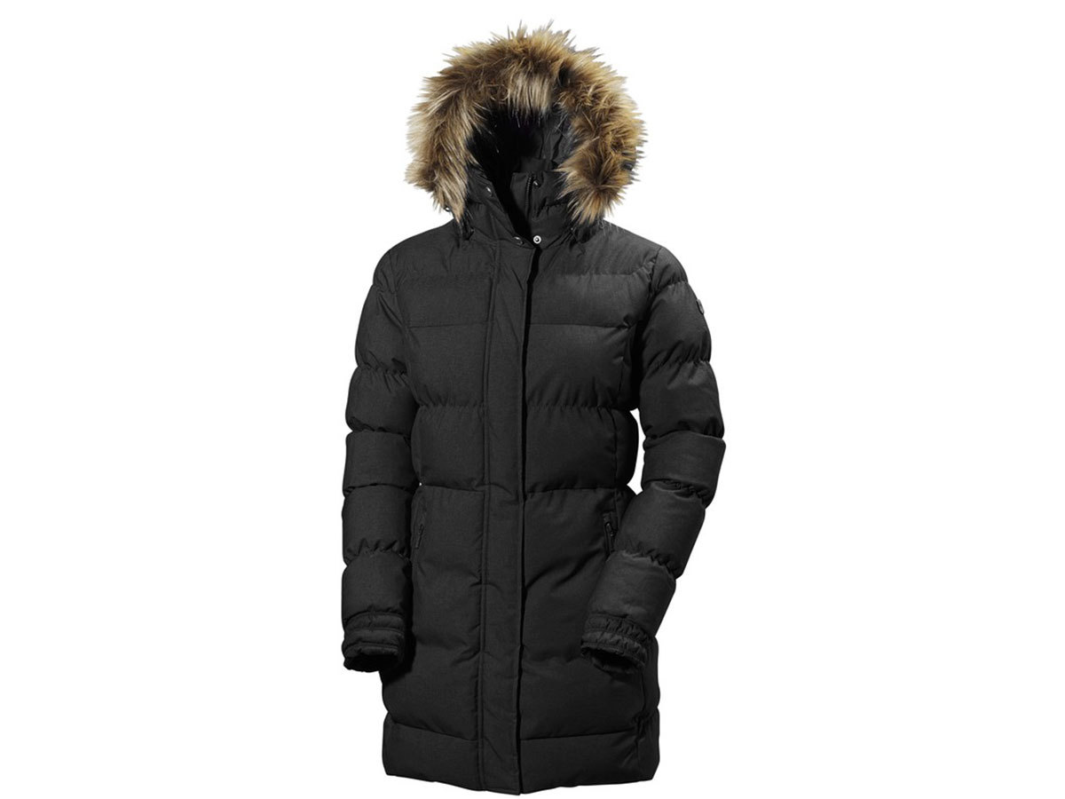 Helly Hansen W BLUME PUFFY PARKA BLACK L (54430_990-L)