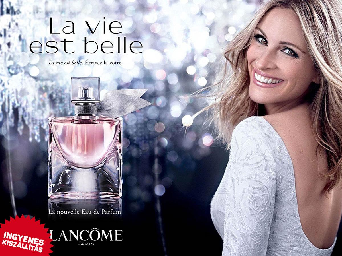 Lancome - La Vie Est Belle parfüm (EDP) nőknek (50-75ml) ingyenes kiszállítással! Virágos-gyümölcsös illat