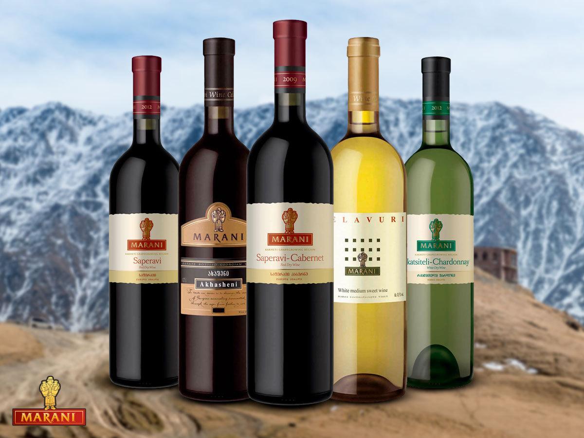 MARANI grúz borkülönlegességek:12 típus a száraz fehértől egészen a félédes vörösig - Lepd meg ismerőseidet is!