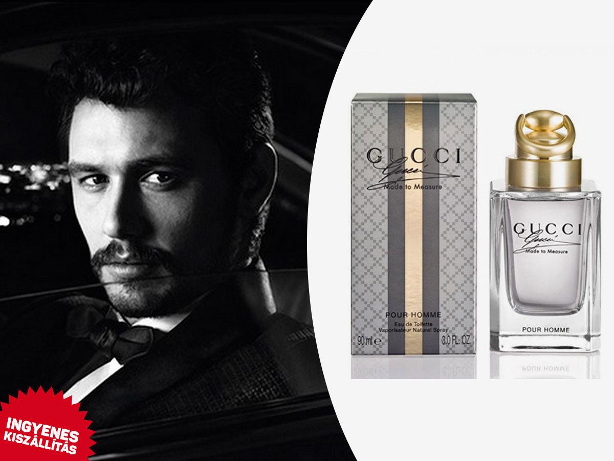 Gucci - Made to Measure Pour Homme parfüm szett férfiaknak: EDT 90ml + After Shave Balzsam 50ml + Tusfürdő 50ml / Ingyenes kiszállítással