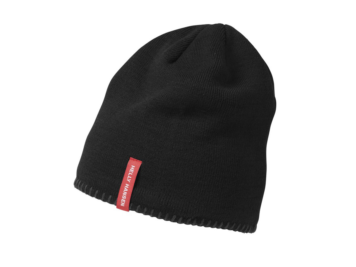 Helly Hansen MOUNTAIN BEANIE FLEECE LINED BLACK STD (67083_990-STD)