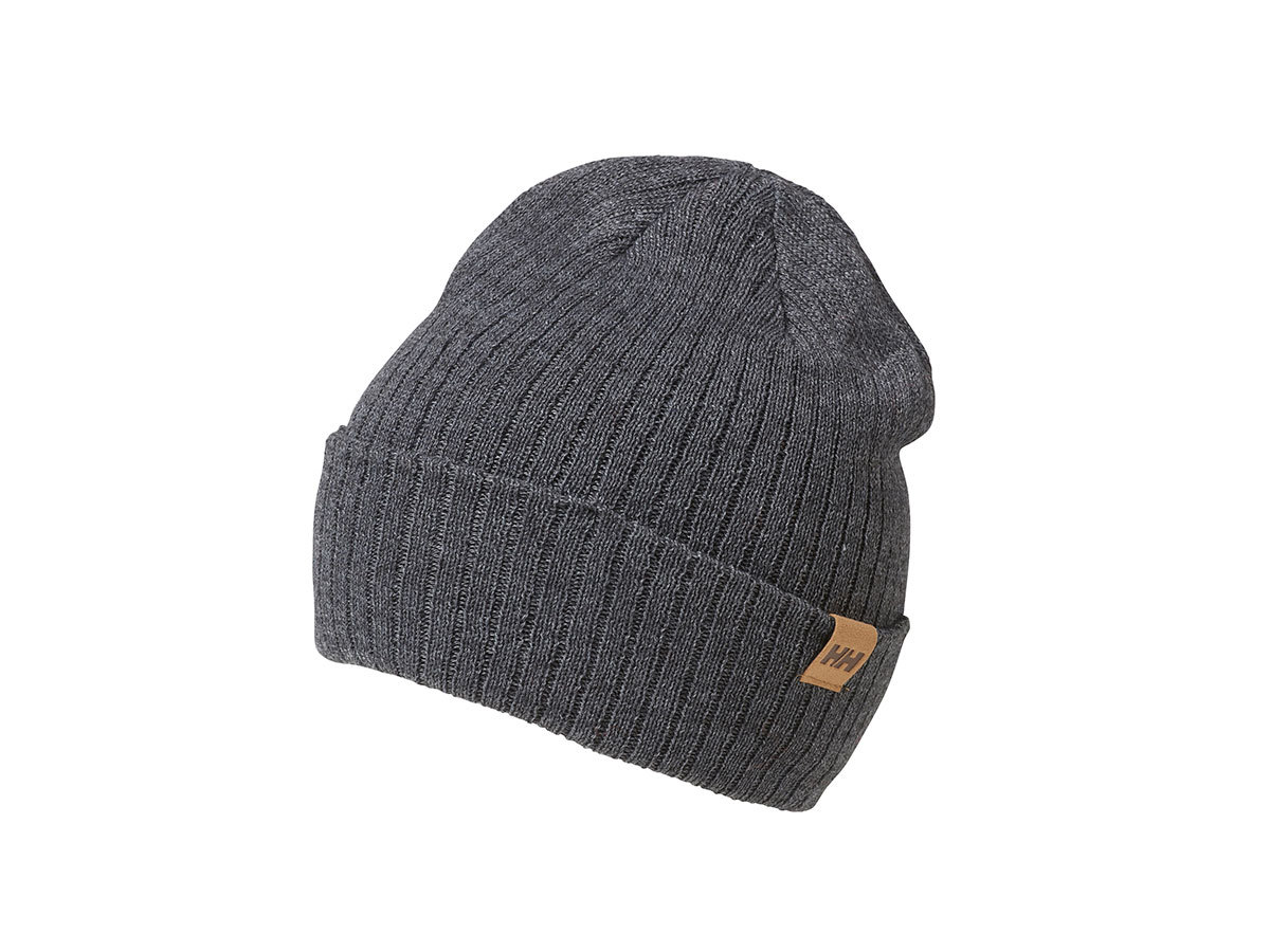 Helly Hansen BUSINESS BEANIE CHARCOAL MELANGE STD (67195_964-STD)