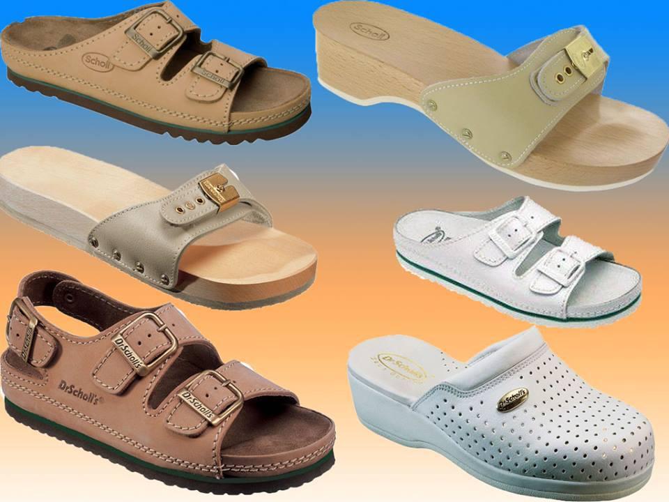 SCHOLL standard papucsok a lábak kényelmét és egészségét - prémium termékek női és férfi méretekben