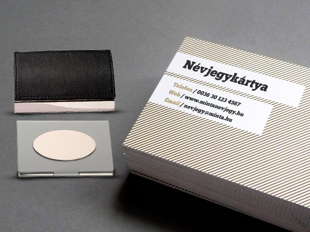 Neked van névjegykártyád? És hozzád illő névjegykártyatartód hozzá?