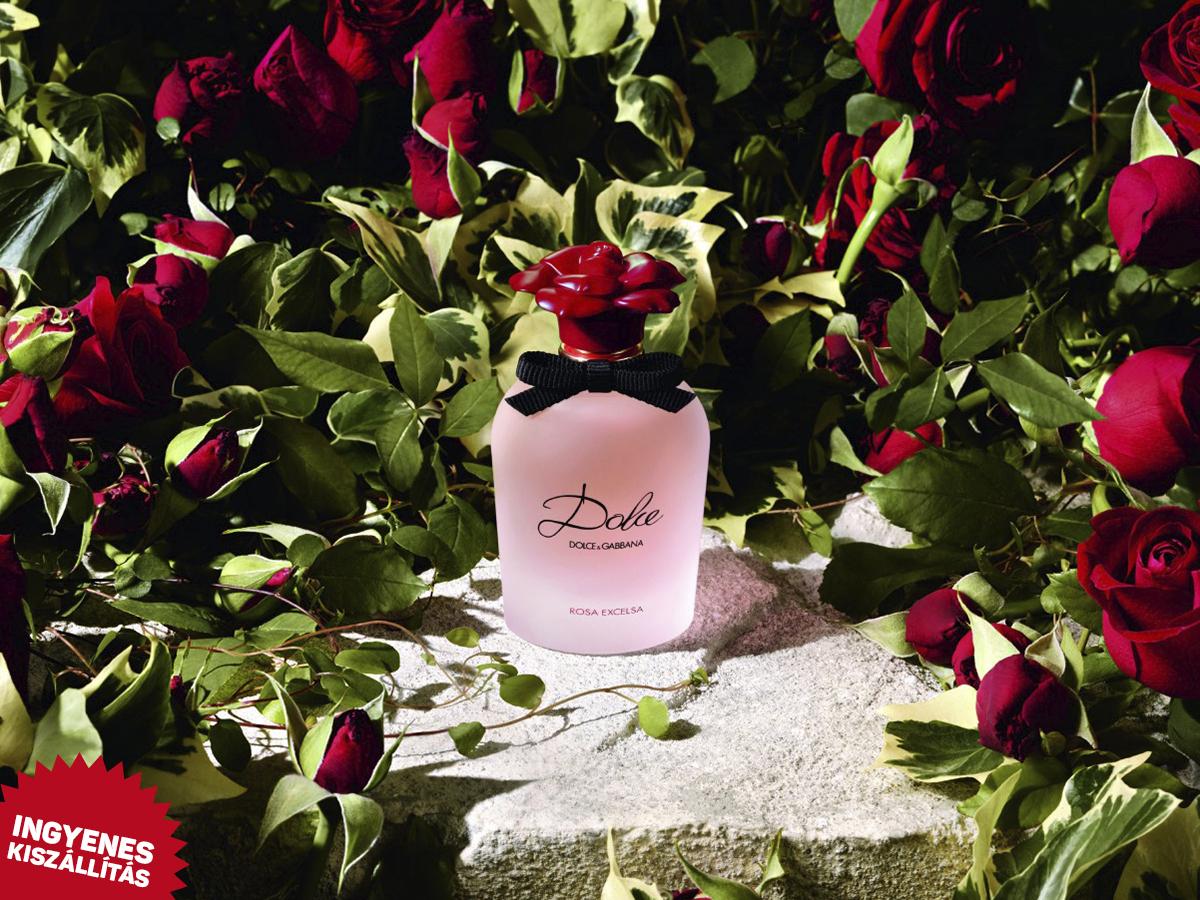 Dolce & Gabbana - Dolce Rosa Excelsa EDP nőknek (75ml) ingyenes kiszállítással! Fás, aromás illat