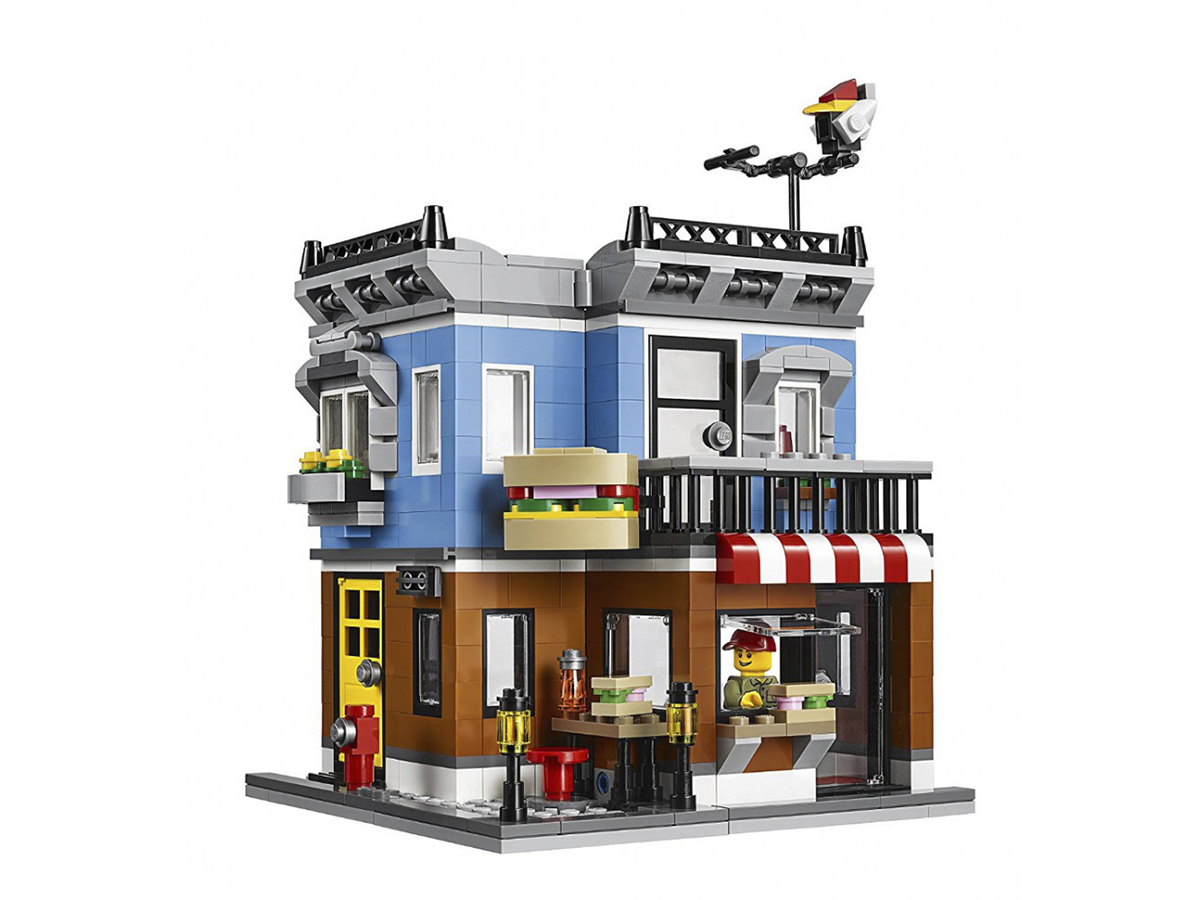 Lepin építőkocka - Város - Hamburgerező - 24007