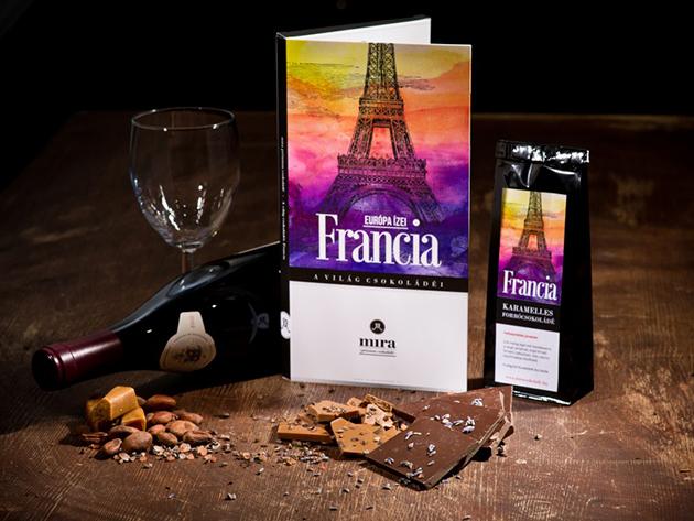 MIRA Prémium Francia Csokoládé