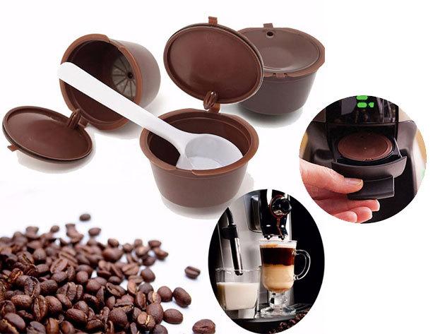 Nescafe Dolce Gusto kávégépekkel kompatibilis 2 db kapszula + kanál / költséghatékony megoldás