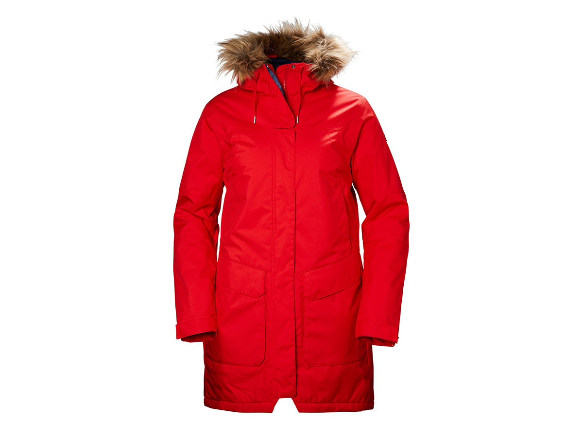 Helly Hansen W HARBOUR PARKA FLAG RED XS (53130_110-XS)