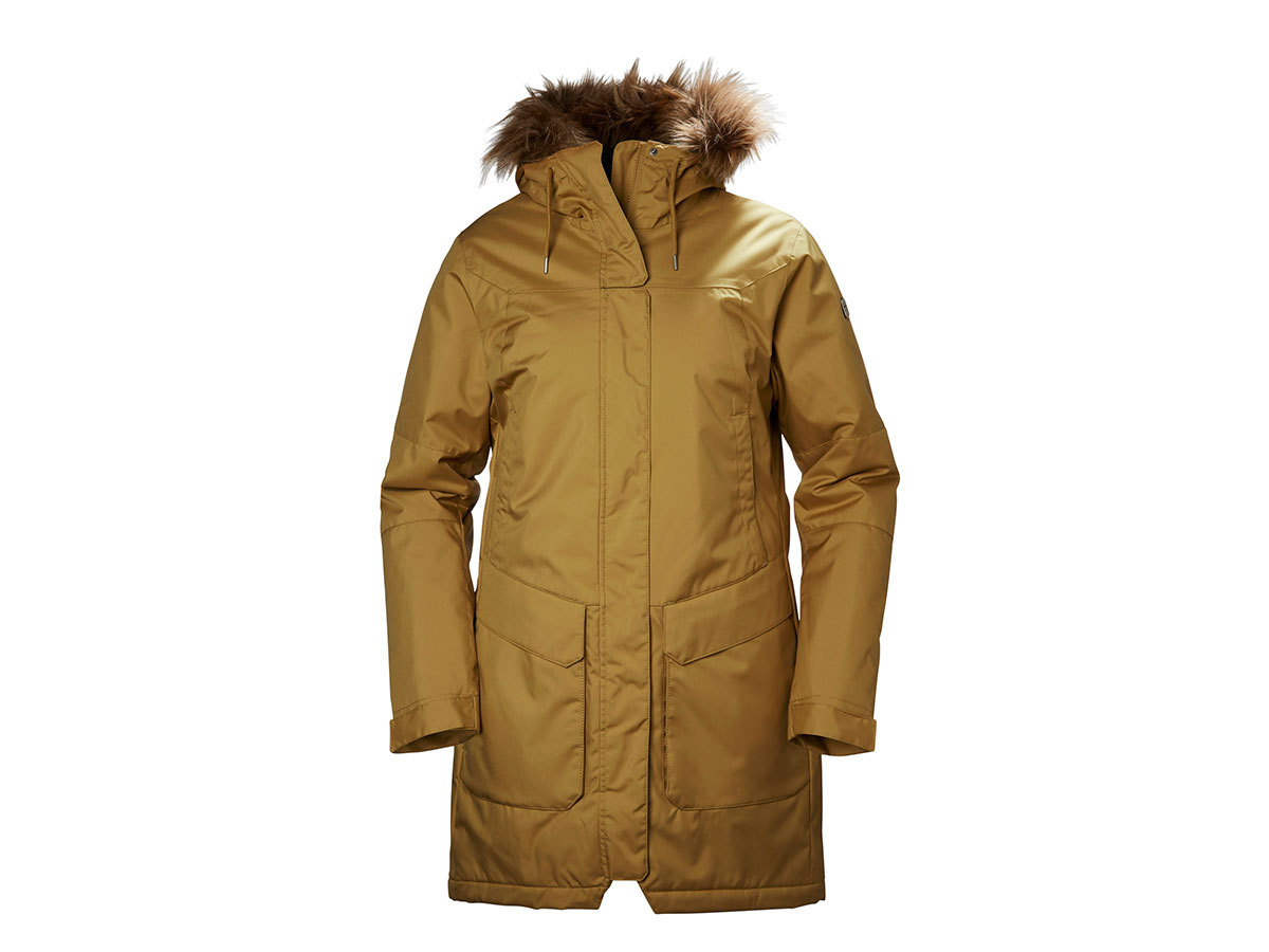 Helly Hansen W HARBOUR PARKA BRUNETTE BROWN L (53130_289-L)