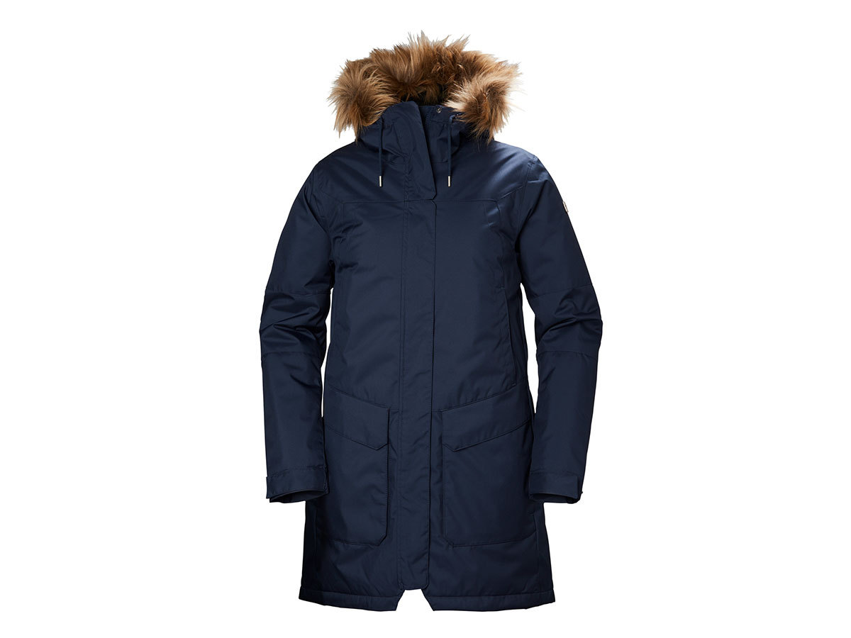 Helly Hansen W HARBOUR PARKA EVENING BLUE L (53130_689-L)