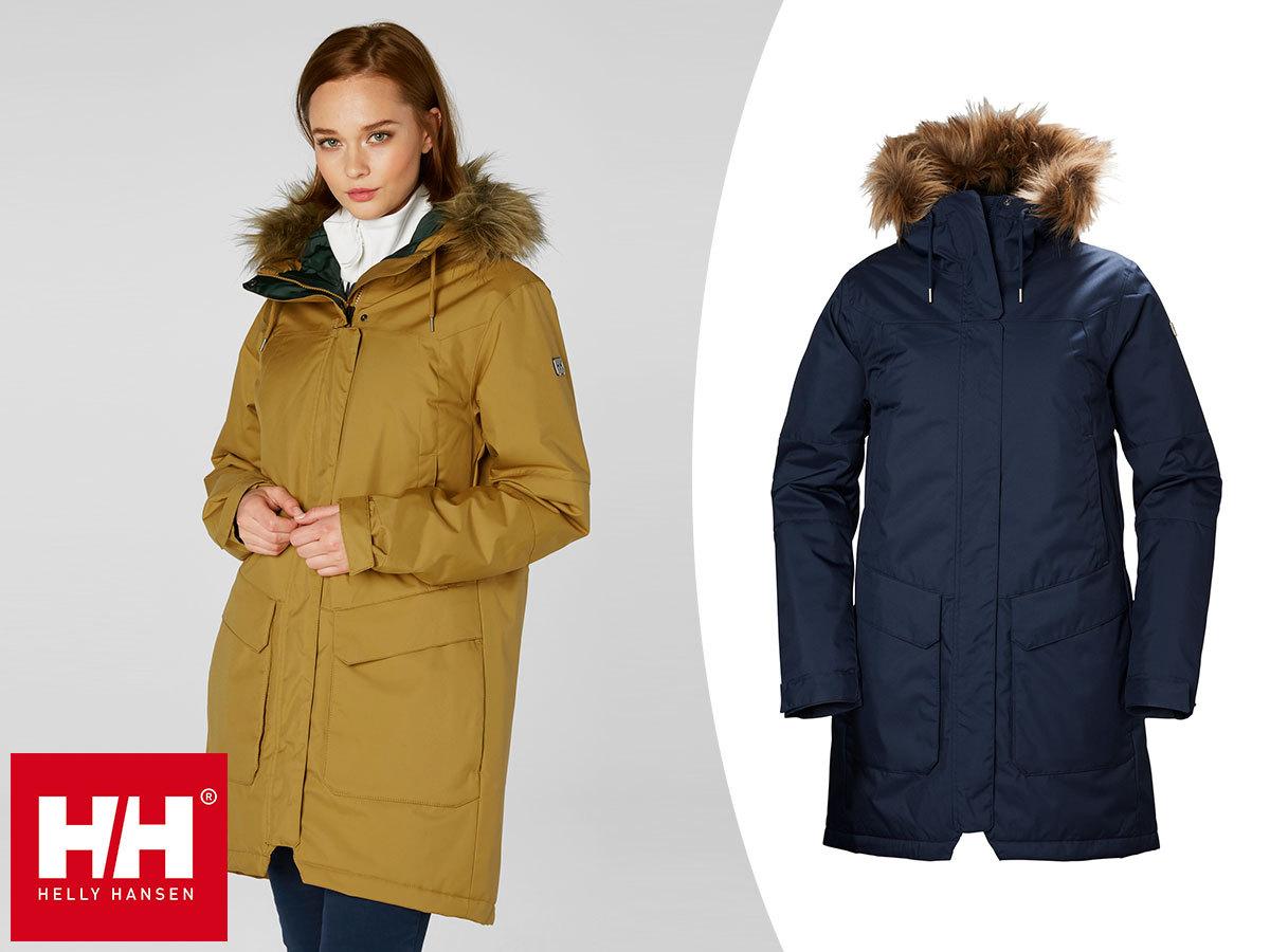 Helly Hansen W HARBOUR PARKA női téli kabát Primaloft® Black béléssel - vízálló, szélálló, lélegző anyag