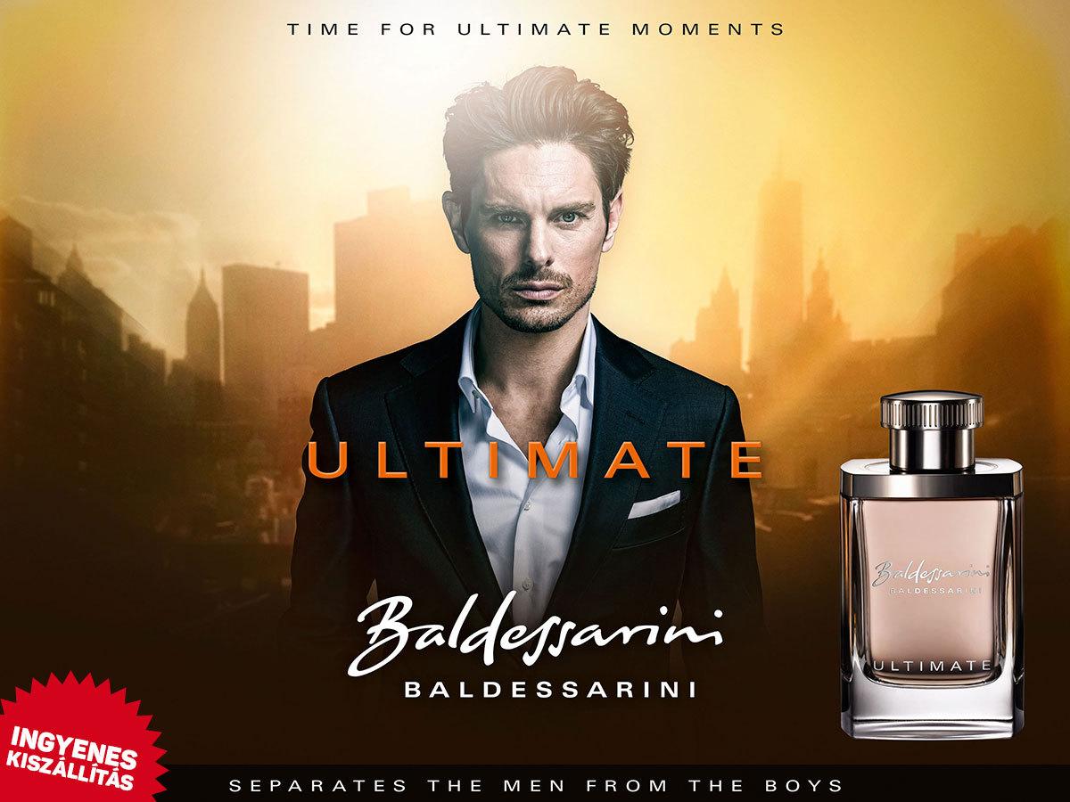 Baldessarini - Baldessarini Ultimate EDT férfiaknak (90ml) ingyenes kiszállítással!