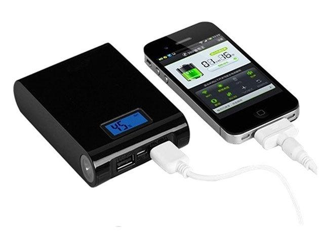 Power Bank prémium minőségben (iPod, iPhone, iPad, Samsung, Nokia és egyéb készülékekhez) 20.000. mAh teljesítménnyel