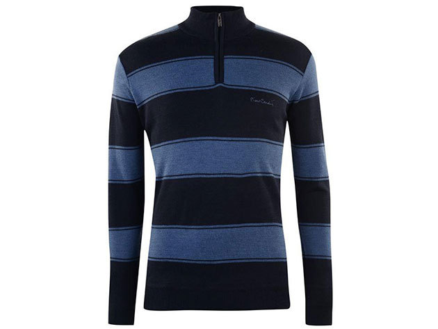 Pierre Cardin pulóver - sötétkék / kék - XXL