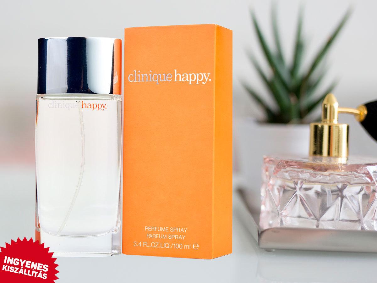 Clinique - Happy For Women EDP nőknek (100 ml) ingyenes kiszállítással - gyümölcsös, virágos illat