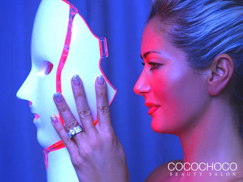 Led maszkos ránctalanító kezelés orvos kozmetikai anyagokkal és hidroabrázióval a Cocochoco Beauty-ban (XIII. ker.)