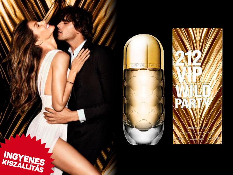 Carolina Herrera - 212 VIP For Women Wild Party (Limited Edition) EDT nőknek (80ml) ingyenes kiszállítással