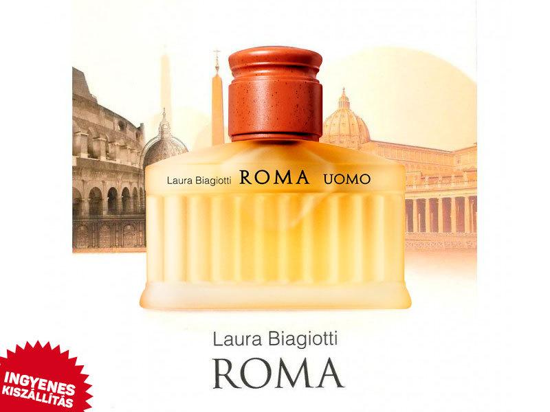 Laura Biagiotti - Roma Uomo EDT férfiaknak (125ml) ingyenes kiszállítással