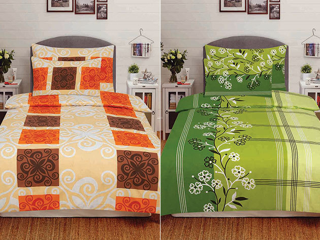 Prémium 100% pamut ágyneműhuzat garnitúrák (3 részes) nyárias mintákkal - újítsd meg hálószobádat minőségi lakástextíliákkal