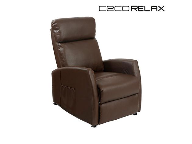 Cecorelax 6182 Hátradönthető Barna Kompakt Relax Masszázsfotel Cecorelax MASSZÁZSFOTEL