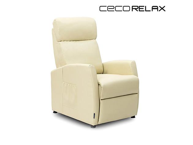 Cecorelax 6181 Hátradönthető Bézs Kompakt Relax Masszázsfotel Cecorelax MASSZÁZSFOTEL