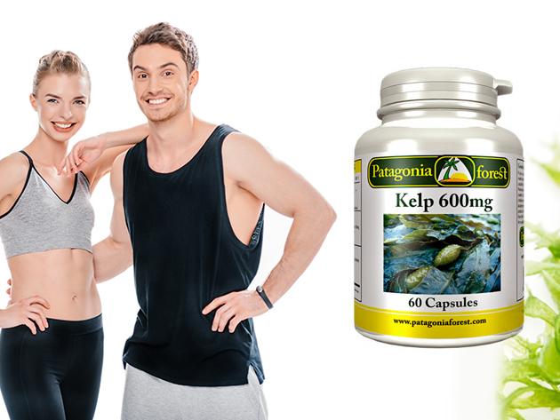 Tengeri hínár étrend-kiegészítő készítmény (600 mg x 60 kapszula) az egyik legjobb ásványi forrás a világon