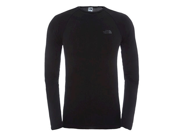 THE NORTH FACE FÉRFI ALÁÖLTÖZET FELSŐ HYBRID CREW NECK TNF BLACK- T0C206JK3 - SM