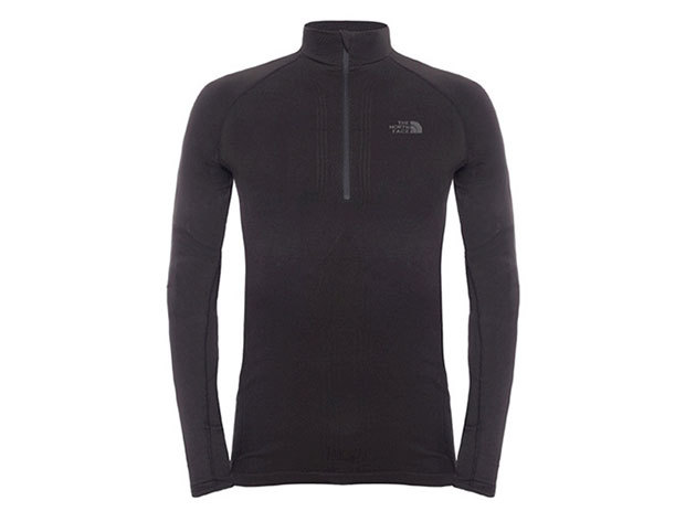 THE NORTH FACE FÉRFI 1/2 ZIP FELSŐ ALÁÖLTÖZET HYBRID ZIP NEC TNF BLACK T0C205JK3 - ML