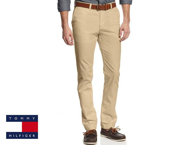 6c00441e1f Tommy Hilfiger férfi nadrág 100% minőségi pamut anyagból választható  méretben, krém színben