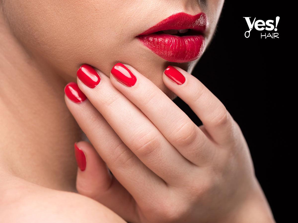 Gél lakkozás paraffinos kézápolással a Yes Hair Szalonban - bőröd puhább, körmöd pedig erősebbek, ápoltak lesznek