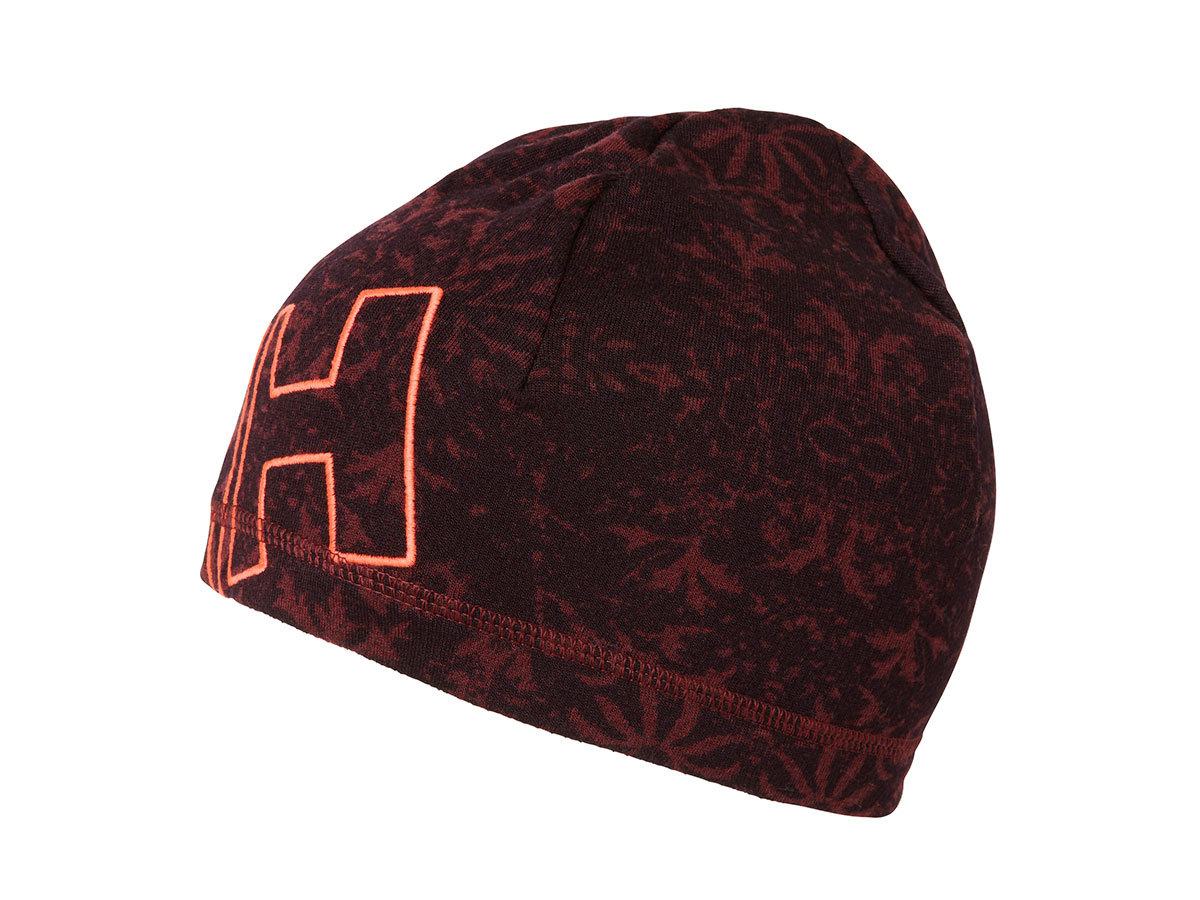 Helly Hansen HH WARM BEANIE PORT / FROZEN FLOWER PRIN STD (68082_117-STD)