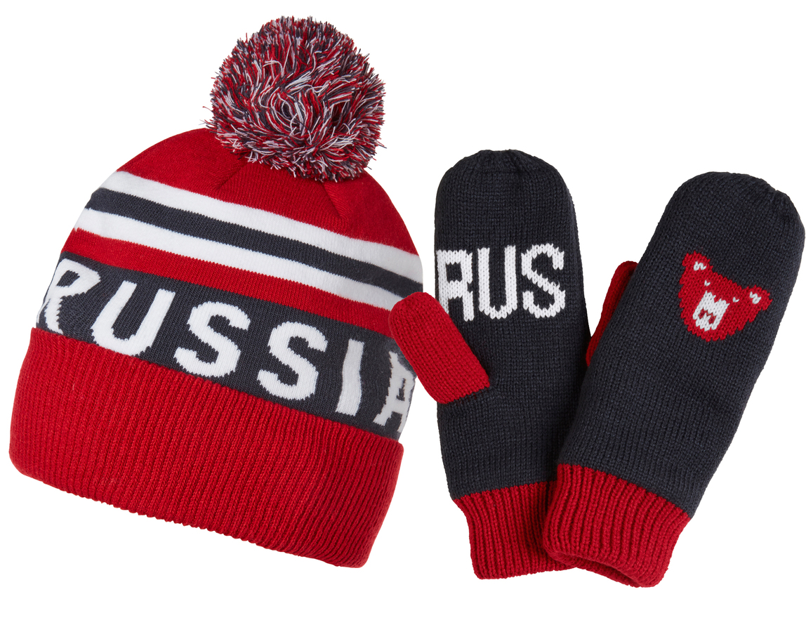 Helly Hansen GOING FOR GOLD SET RUSSIA FLAG RED STD (67098_111-STD)