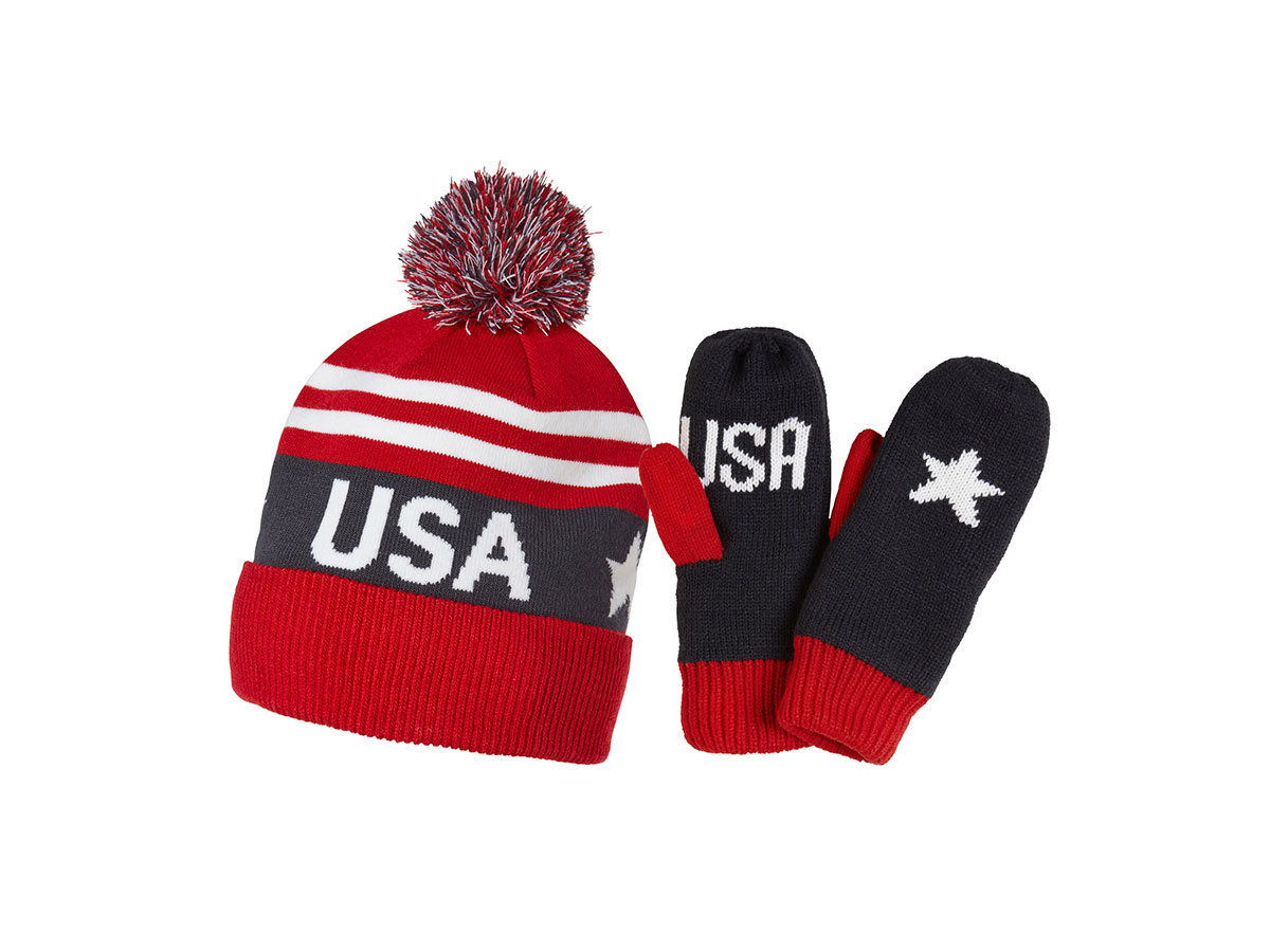 Helly Hansen GOING FOR GOLD SET USA FLAG BLUE STD (67098_564-STD)