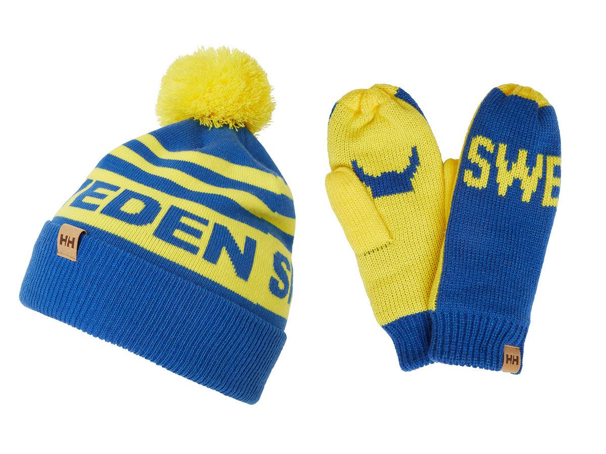 Helly Hansen GOING FOR GOLD SET SWEDISH FLAG BLUE STD (67098_593-STD)