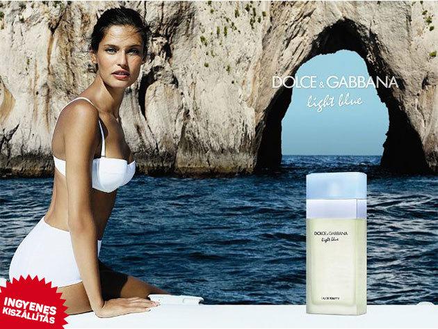 Dolce & Gabbana - Light Blue For Women EDT nőknek (100ml) ingyenes kiszállítással / virágos-gyümölcsös illat