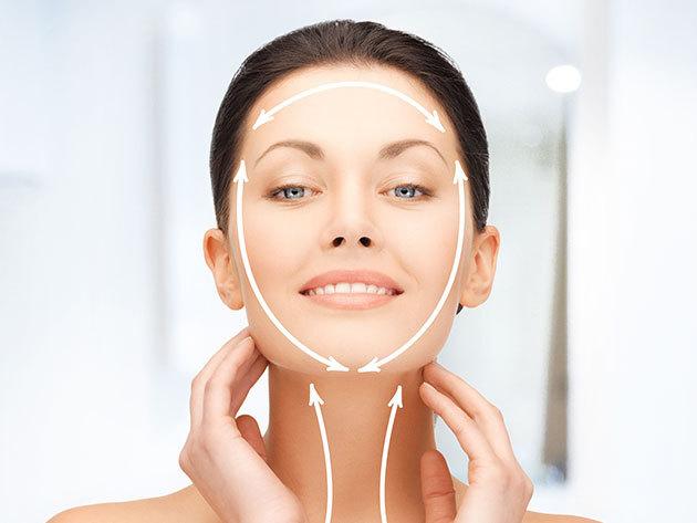 3 alkalmas luxus arc- és dekoltázskezelés: Medilite lézeres ránctalanítás + oxigénterápia + Thermage bőrfeszesítés