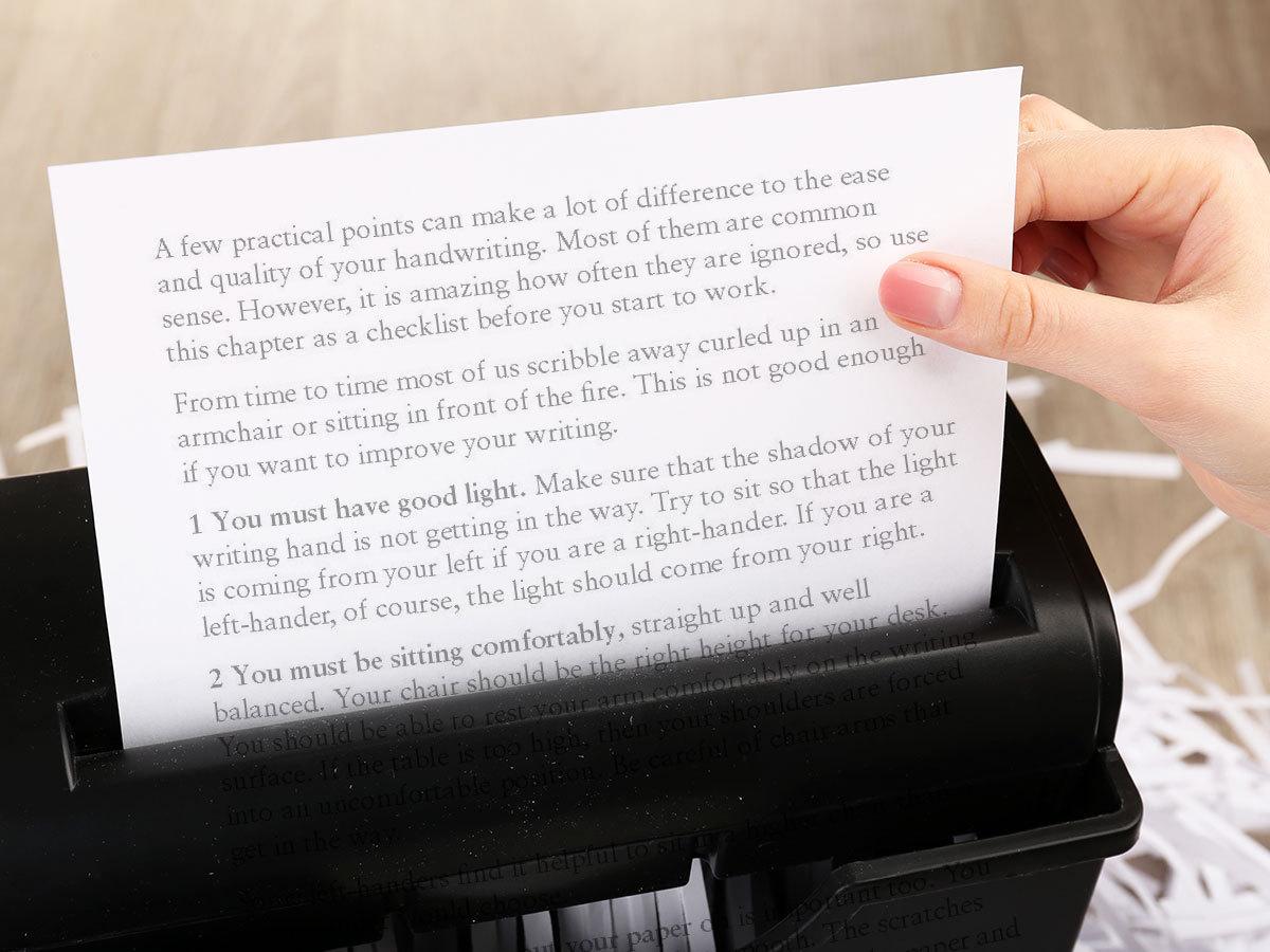 EDNET Iratmegsemmisítők – gondoskodj róla, hogy senki se élhessen vissza dokumentumaid tartalmával!