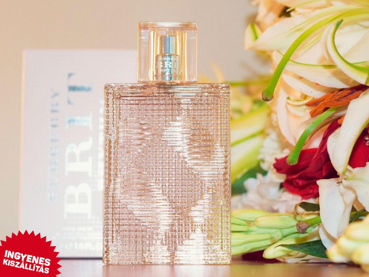 Burberry - Brit Rhythm For Her EDT nőknek (90ml) Ingyenes kiszállítással / fás-virágos illat