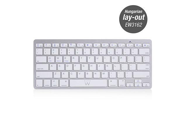 Ewent EW3162 Bluetooth keyboard Hungarian lay-out