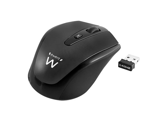 Ewent EW3215 Wireless mouse black 1000/1200/1600dpi
