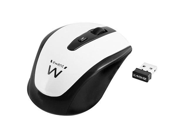 Ewent EW3216 Wireless mouse white 1000/1200/1600dpi